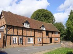 Turpins Row, a long run of late 16th century cottages - named after the builder, not the highwayman! Amersham UK