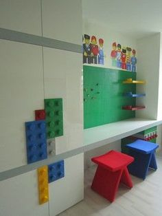 Lego Room Design Ideas, Pictures, Remodel, and Decor - page 4