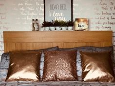 19 Ideas For Home Decored Blue And Gray Mirror Bio Ethanol, Bedroom Frames, Teen Bedroom, Bedroom Ideas, Master Bedroom, Romantic Bedroom Decor, Table And Chair Sets, Trendy Home, Upcycled Furniture