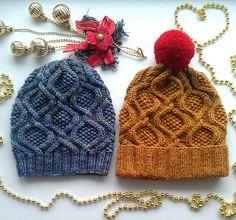 Ravelry: -Chamilla-'s Gemstone hat