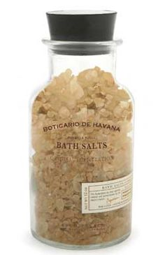 Archipelago Botanicals - Boticario de Havana Bath Salts and Reviews - Beauty Bridge
