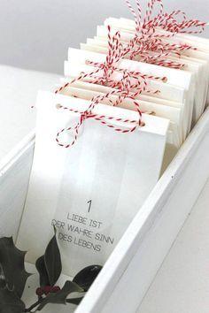 Adventskalender+LIEBE+von+theartofvariety+auf+DaWanda.com