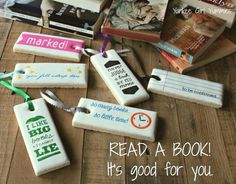 Cookie Stick Bookmarks | Yankee Girl Yummies