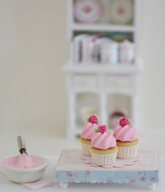 Sweet Petite Playscale Cupcakes by SweetPetiteShoppe on Etsy, $12.00