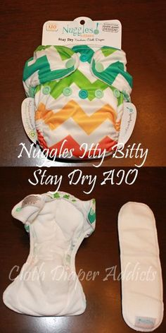 Nuggles Bittee Stay Dry All-in-One Newborn Cloth Diaper Review