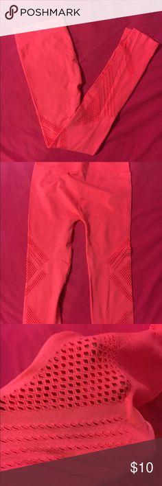 Leggings Orange leggings Pants Leggings
