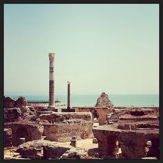 Carthage   قرطاج in Tunisia