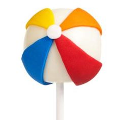 We've turned an icon of summer into a delicious cake pop, perfect for any summer party or beach-theme birthday. Use white Candy Melts candy to coat your favorite cake ball pops and tinted Wilton White Ready-To-Use Rolled Fondant to decorate.