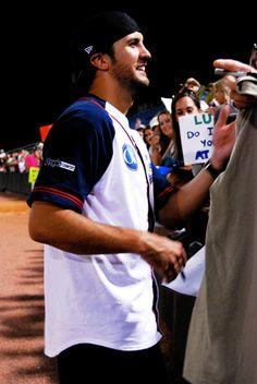 My favorite ball player! Smokin' Hot Luke Bryan