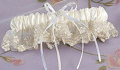 A wonderful way for my daughter to wear a part of my old wedding dress!