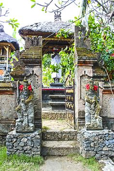 Un lugar para rezar en Nusa Lembongan, una isla que está muy cerca de Bali