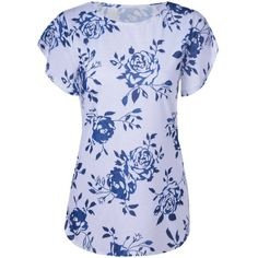 $12.60 Fashionable Short Sleeves Round Collar Printing T-Shirt For Women