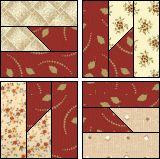 buzz-saw pattern block