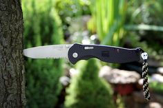 SOG Flash II Partially Serrated Submitted By: Mr. Slender Purchase on Amazon