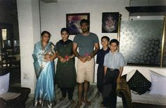 Ajay Devgan With His Family