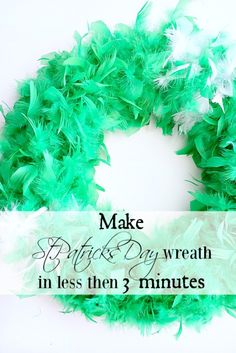 St.Patricks Day Wreath - Duke Manor Farm