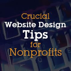 These crucial detailed points should not-be missed while designing a nonprofit website.