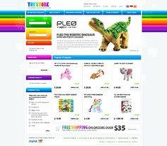 Toys Store Magento Themes by Mercury