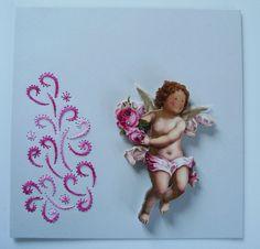 Defi 25 L'angelo ricamo di giuseppina ceraso http://crocettando.wordpress.com