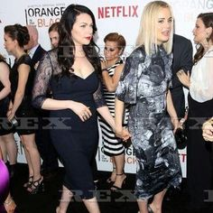 "122 Likes, 6 Comments - @therevengeofchapman on Instagram: ""#vauseman #laylor #Taylorschilling #Lauraprepon #OITNB #teamalex"""