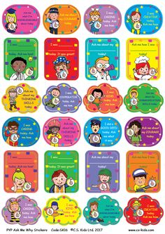 PYP Ask Me Why Stickers Code : Why do I have this big smile on my face? Well let me tell you. With our ask my why stickers, everyone will be eager to hear what you did today! 24 designs / pack of 144 stickers Teacher Stickers, Kids Stickers, Teaching Tools, Teacher Resources, Ib Classroom, Learner Profile, Classroom Expectations, Positive Comments, Ask Me