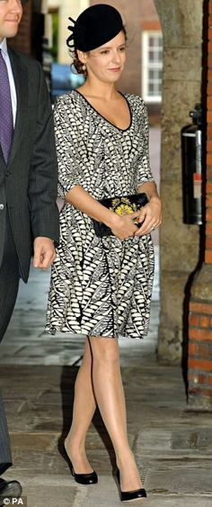 Kate's friend and style influence Emilia Arriving for Prince George's christening