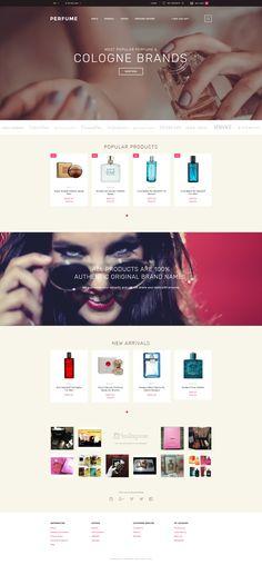 OpenCart Theme , Perfume Shop