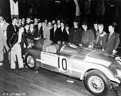 1952 Le Mans. 3rd place Nash-Healey (#10). Best showing for a Nash-Healey at Le mans.