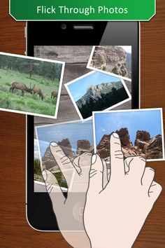 Photo Table ($9.99) ★ Multi-touch Slideshow and Collage Designer ★ Play with your photos on a virtual table. Tap, zoom, flick, rotate, and drag images around your table and share experiences with family and friends. Photo Table is a multi-touch interactive slideshow.