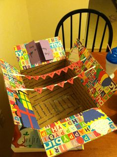 Birthday care package- Could you imagine if your camper opened up an envelope of decorations? Great idea for our parents and totally doable with our package policy!