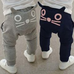 Retail new 2017 spring and autumn kids clothing boys girls harem pants cotton owl trousers baby pants  #Affiliate