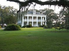 Felicité Plantation - built in1847, Felicité is located along the Great River Road (Highway 18) in Vacherie, Louisiana. It is among a very important three mile row of plantations which include Oak Alley, St. Joseph and Laura.