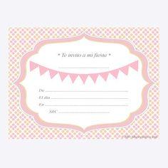 La Fiesta de Olivia | * Invitaciones * | Decoración de fiestas infantiles, bodas y eventos