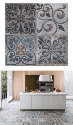 Antique by Porcelanosa #tiles #kitchen @porcelanosa