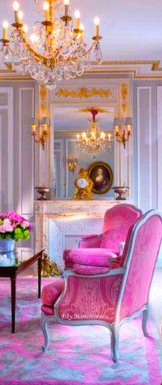 French Antique Louis XVI Trumeau Mirror by BonMaisonDecor. | ~French ...