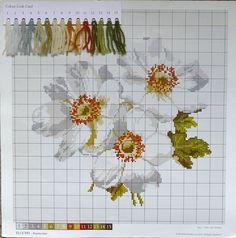 Elizabeth Bradley - Anemone Chart - Blooms Collection | eBay