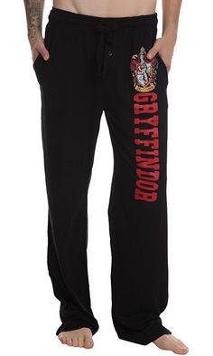Harry Potter Gryffindor Guys Pajama Pants Best Price
