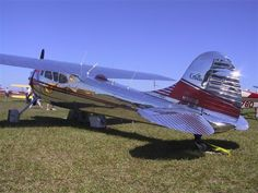 Cessna 195 BEAUTIFUL PLANE !