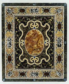 Very Unusual Vintage Seascape Made Of A Slice Of Stone--pietra Dura? Collectibles