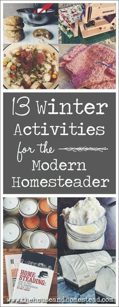 Homesteading is typically associated with fair-weather activities like farming, gardening and preserving the harvest. But after the last jars have been pulled from the canner and the first frost sets Homestead Farm, Homestead Gardens, Homestead Living, Homestead Survival, Survival Skills, Survival Prepping, Survival Gear, Survival Quotes, Off Grid Homestead