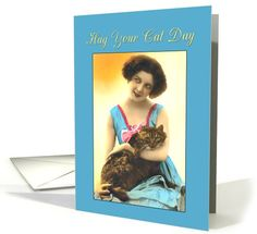 Hug Your Cat Day | Cats | Greeting Card Universe by Denise Beverly