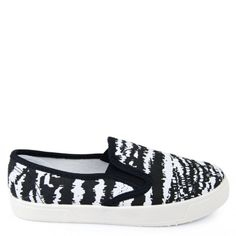 SLIPERSY SLIP ON W ZEBRE
