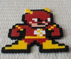 the flash! made in hamma / perler beads #DC