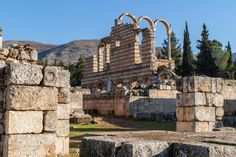 THE BEAUTY OF LEBANON - BEKAA, ANJAR RUINS