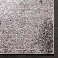 Trent Austin Design Costa Mesa Light Gray/Purple Area Rug Rug Size: Rectangle 3' x 5'