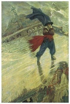 Howard Pyle ' The Flying Dutchman' (1900)