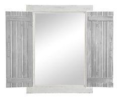 Miroir, blanc - L80