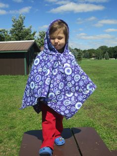 Purple Flowers/Hearts Car Seat Poncho Car seat Coat Poncho for by ToptoToesSewing, $35.00