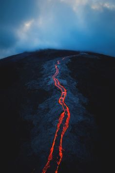 Check out this awesome collection of Volcano Lava IPhone Wallpaper is the top choice wallpaper images for your desktop, smartphone, or tablet. All Nature, Amazing Nature, Monte Fuji Japon, Volcano Wallpaper, Volcan Eruption, Landscape Photography, Nature Photography, Travel Photography, Lava Flow