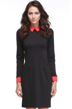 Elegant Spring Women's Ladies Office Business Formal Tonic Pencil Slim Party Stretch Dresses